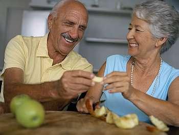 питание пожилого человека